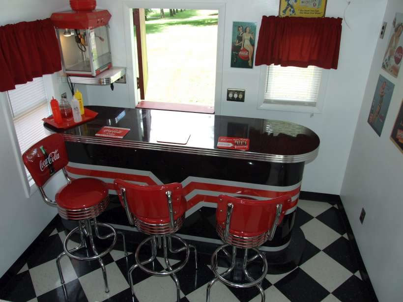 Retro Bars 1950 Bar Style And Custom Design