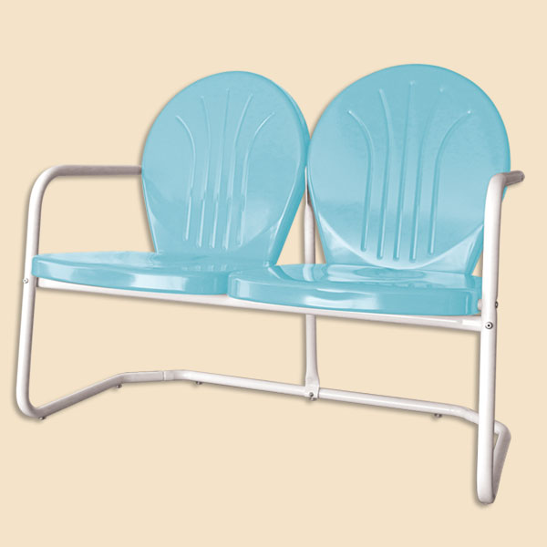 retro metal chairs retro metal lawn chair metal lawn glider double glider